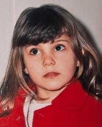 Mira Nencheva when young
